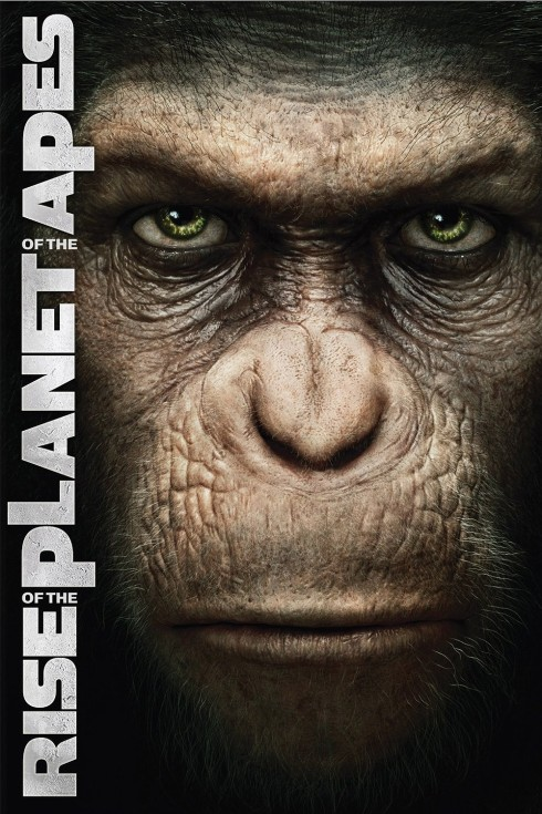 rise of the planet of the apes theatrical movie poster