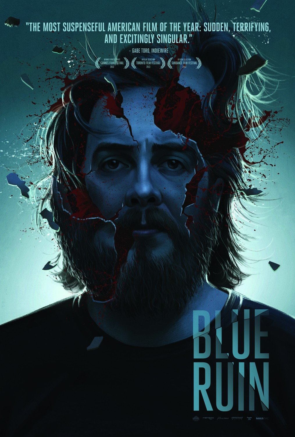 blue ruin poster 1
