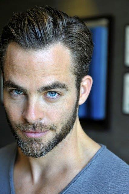 chris eyes and beard