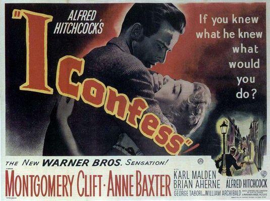 I confess Poster