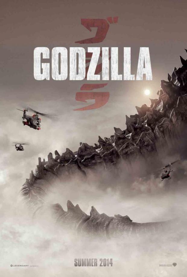godzilla 2014 poster