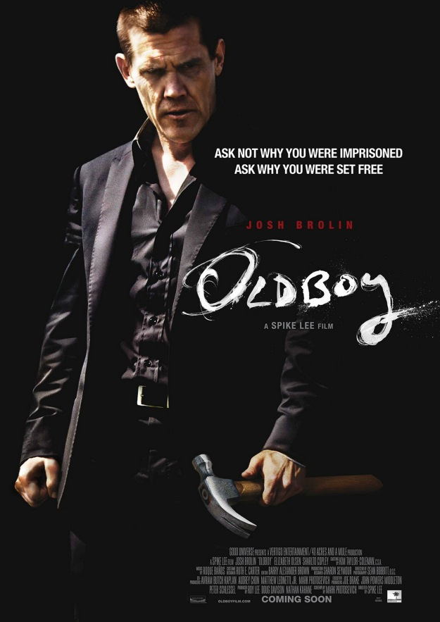oldboy 2013 movie poster