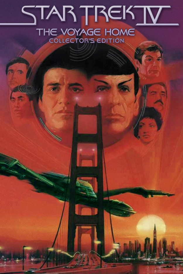 star trek the voyage home poster