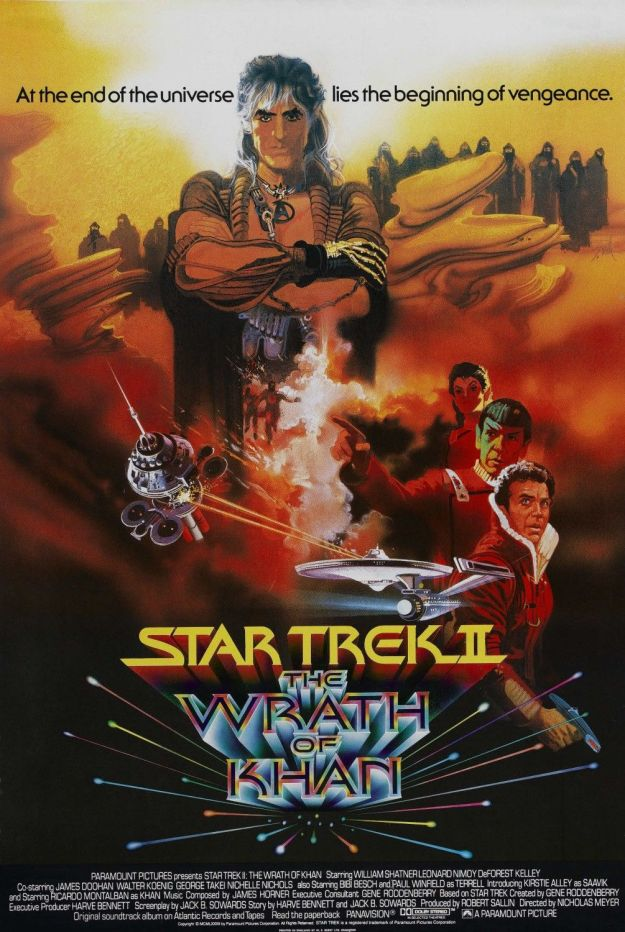 star trek wrath of khan poster