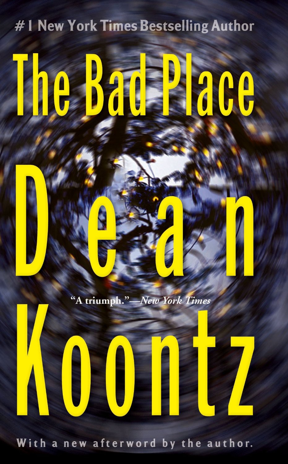 the bad place dean koontz cover