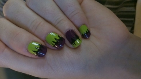 halloween nailss
