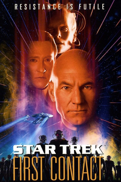 star trek first contact movie poster2