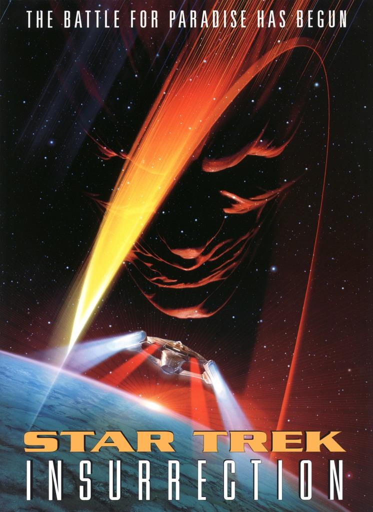 star trek insurrection poster