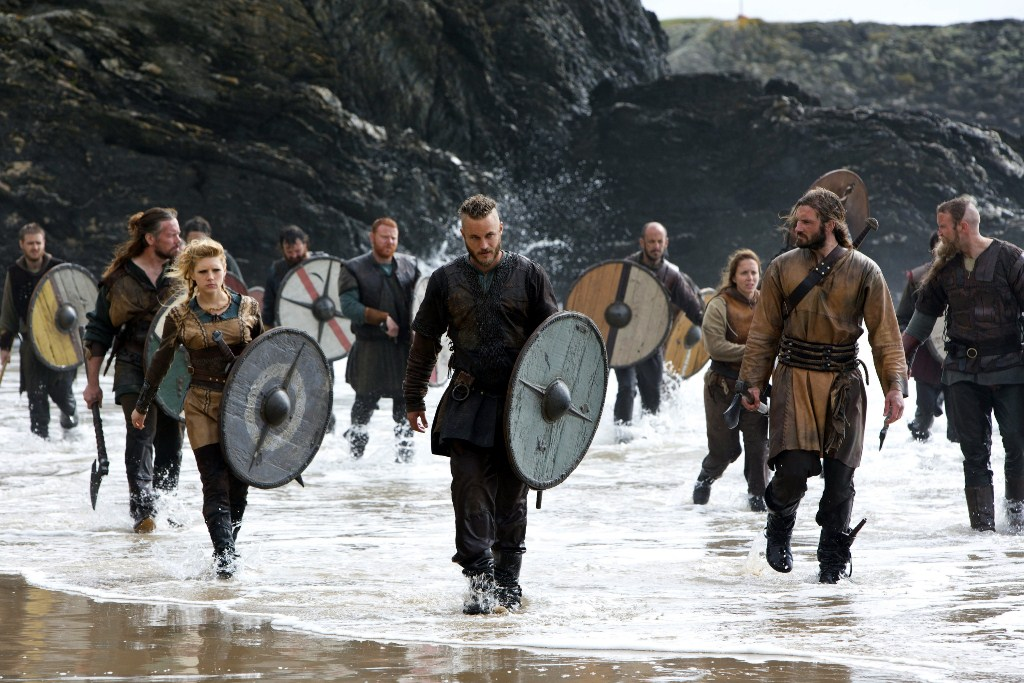 vikings season 1 beach landing