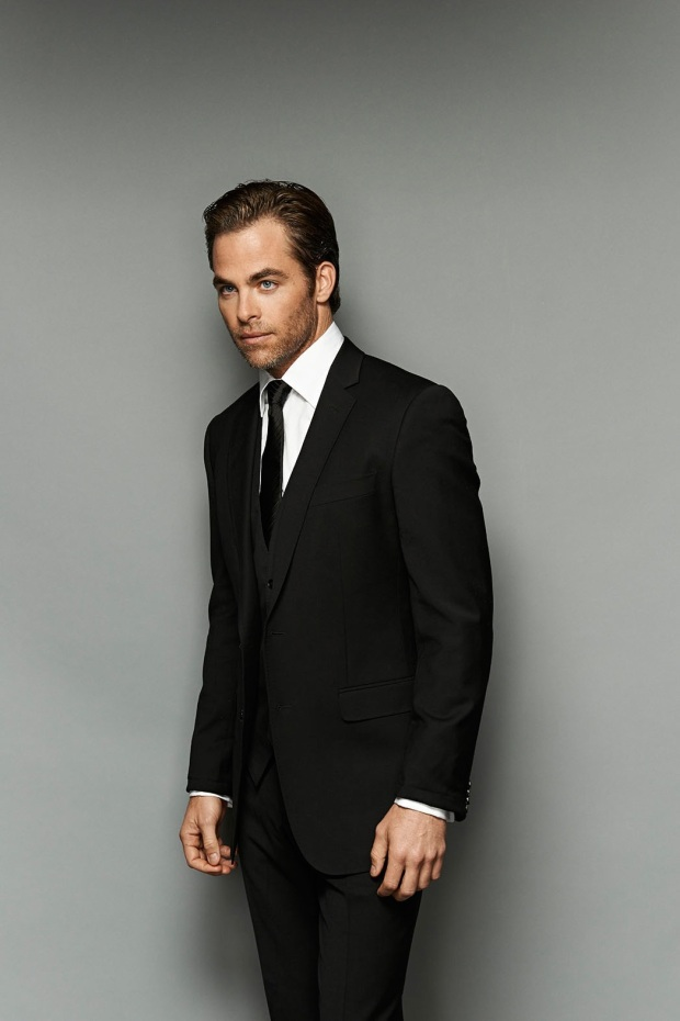 chris pine suit