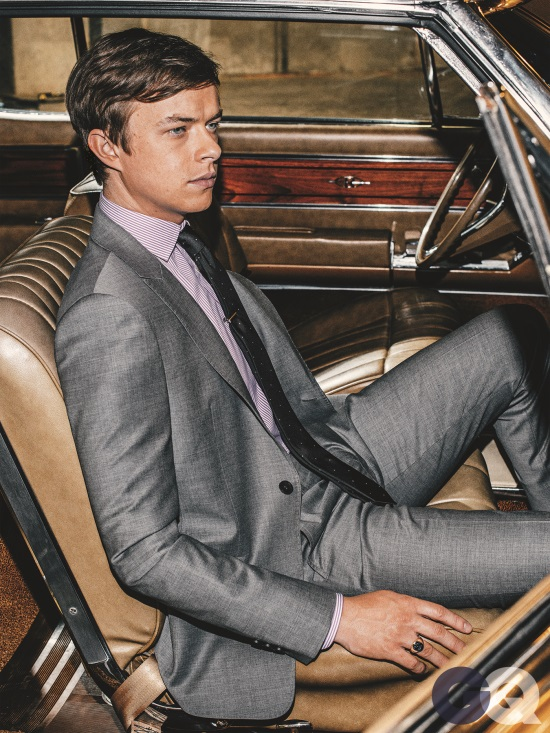 dane dehaan suit