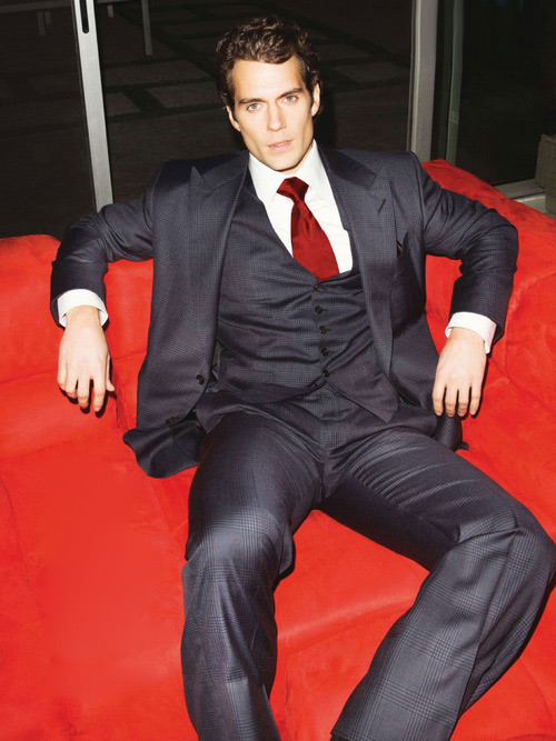 henry cavill suit