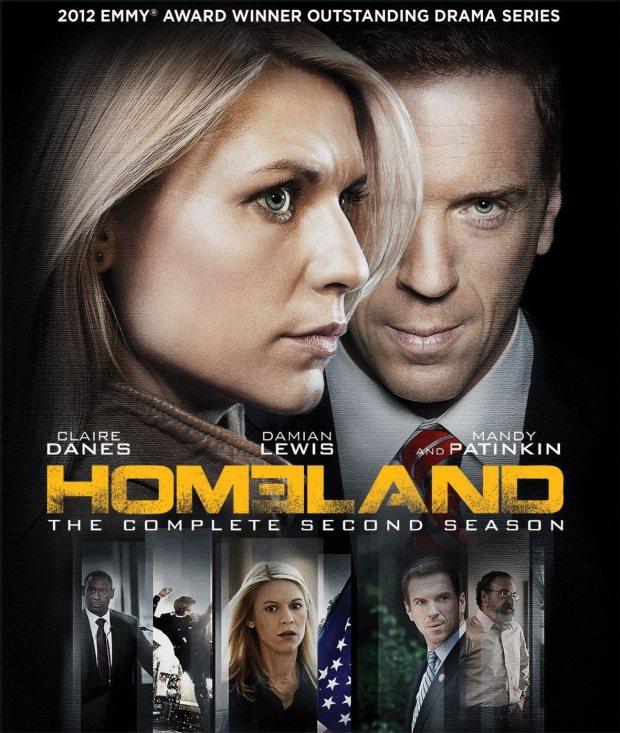 homeland season 2 poster