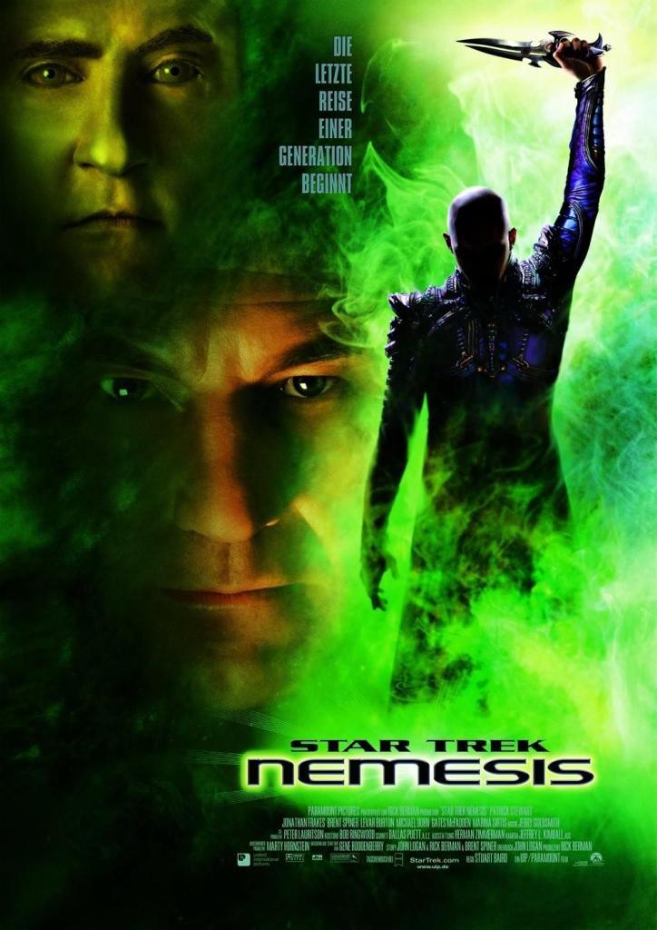 star trek nemesis poster