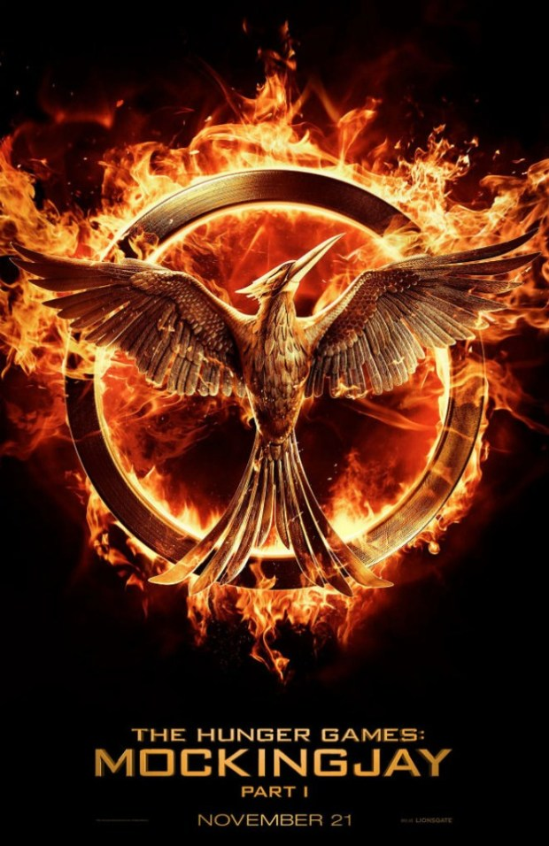 the hunger games mockingjay part 1 poster