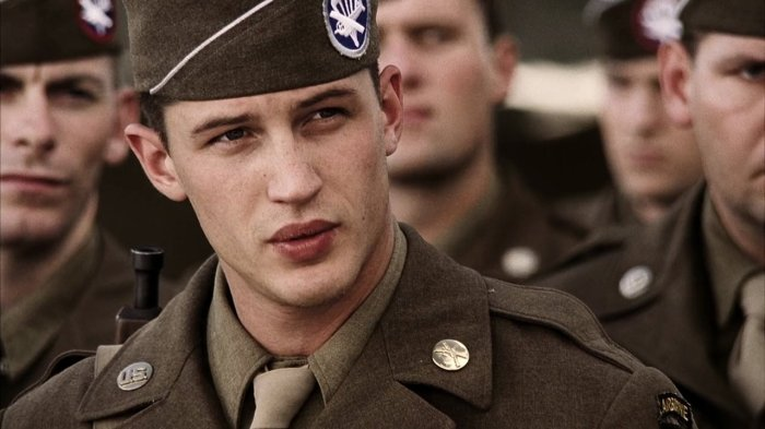 tom hardy uniform