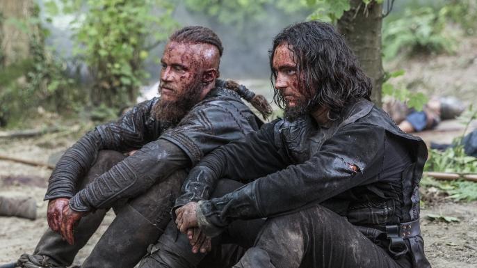 vikings season 2 athelstan and ragnar