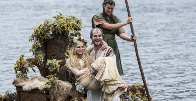 vikings season 2 floki and helga wed