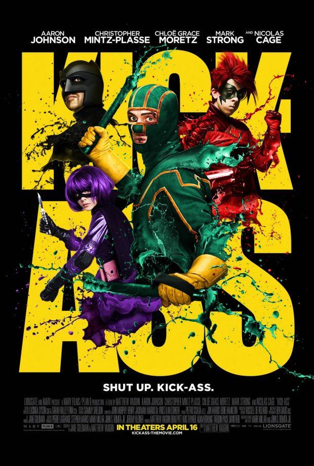 kick ass poster