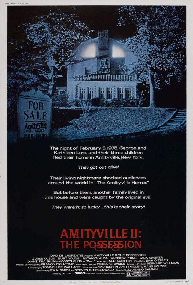 amityville 2 the possession poster