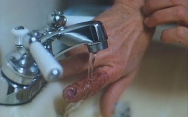 amityville 4 sick finger