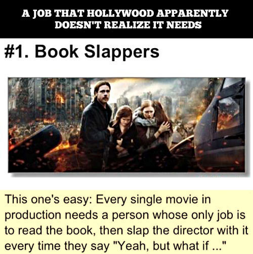 book slappers movie job