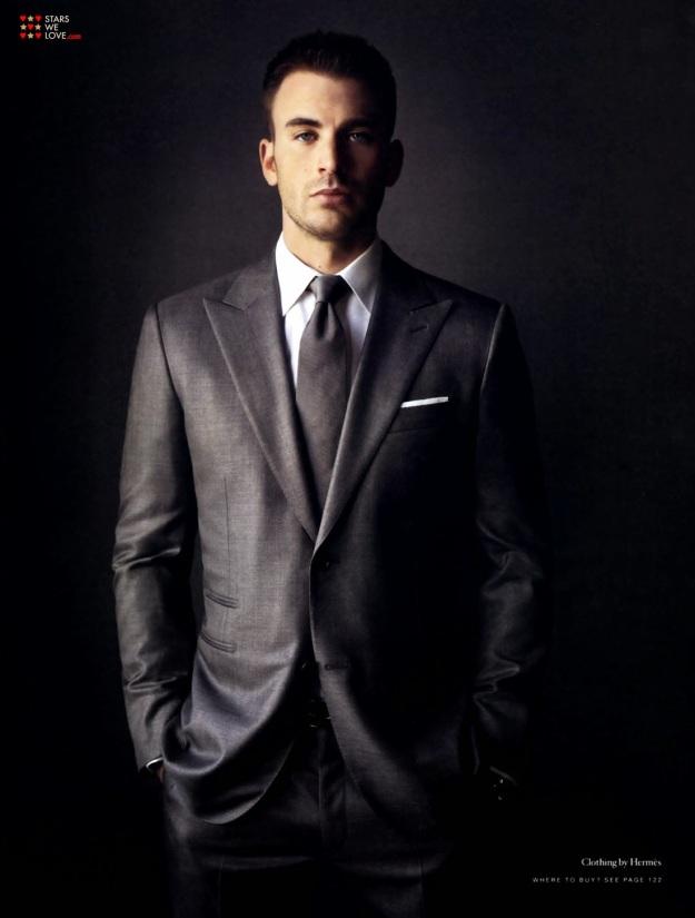 chris evans suit