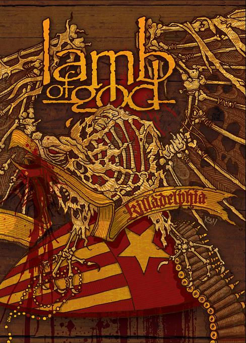lamb of god killadelphia cover