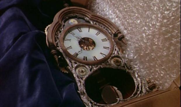 amityville it's about time clock