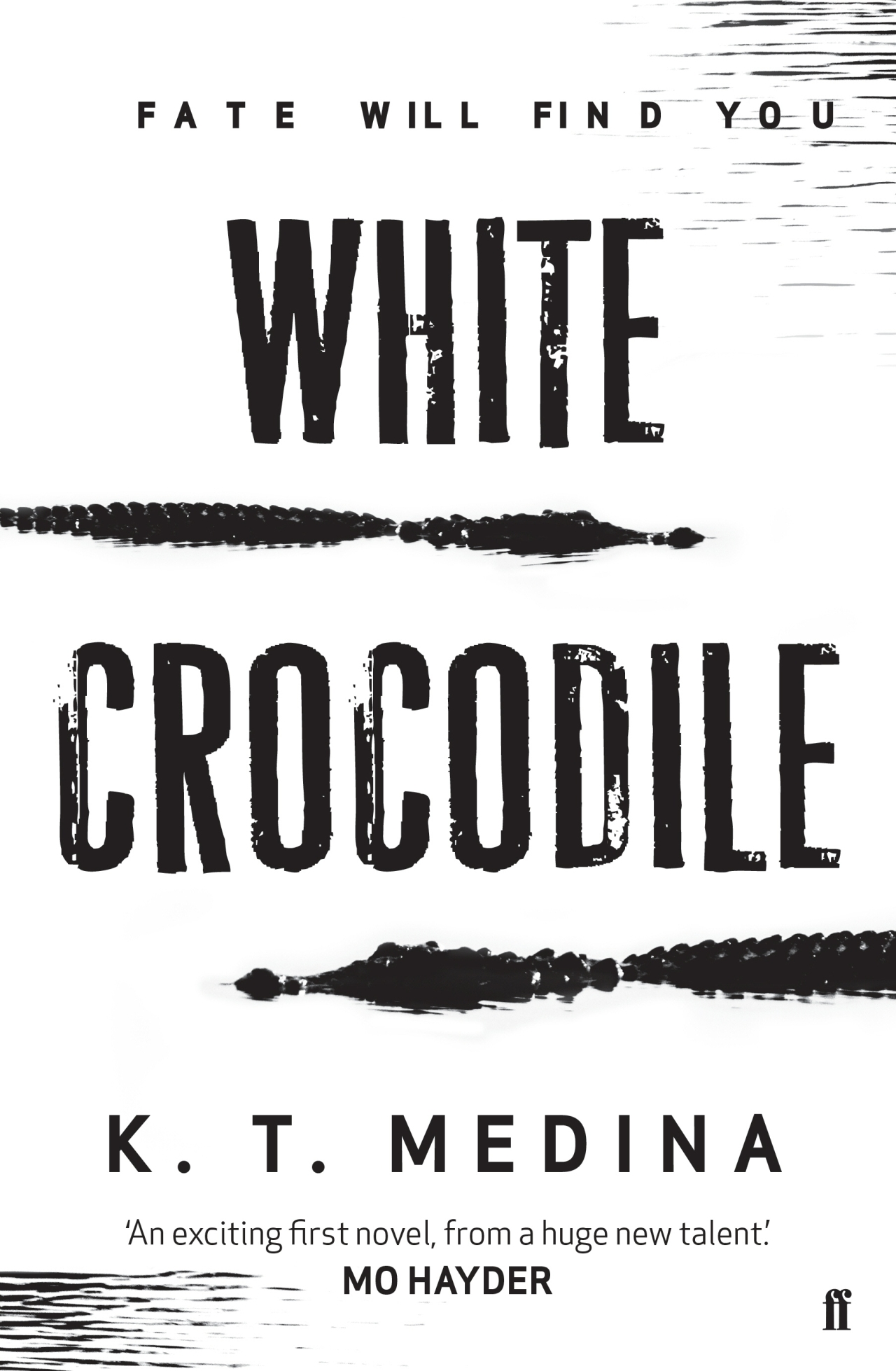 white crocodile cover