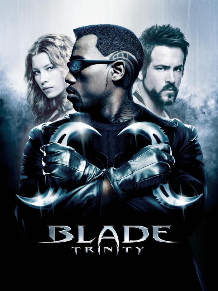 blade trinity poster