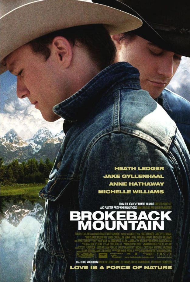 brokeback mountain poster