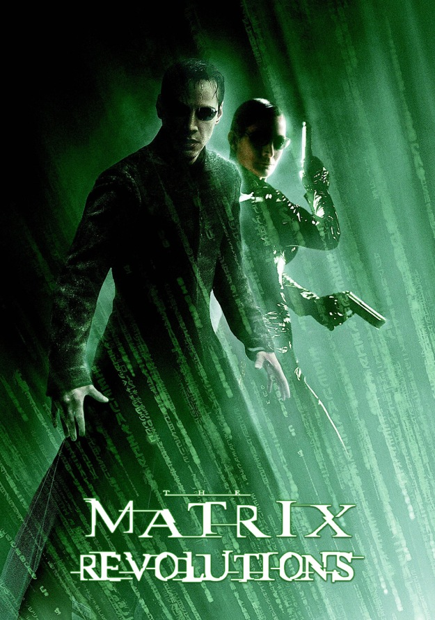 the matrix revolutions poster