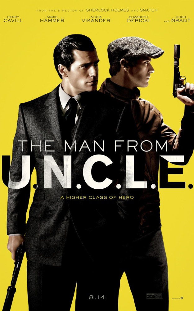 the man from uncle poster