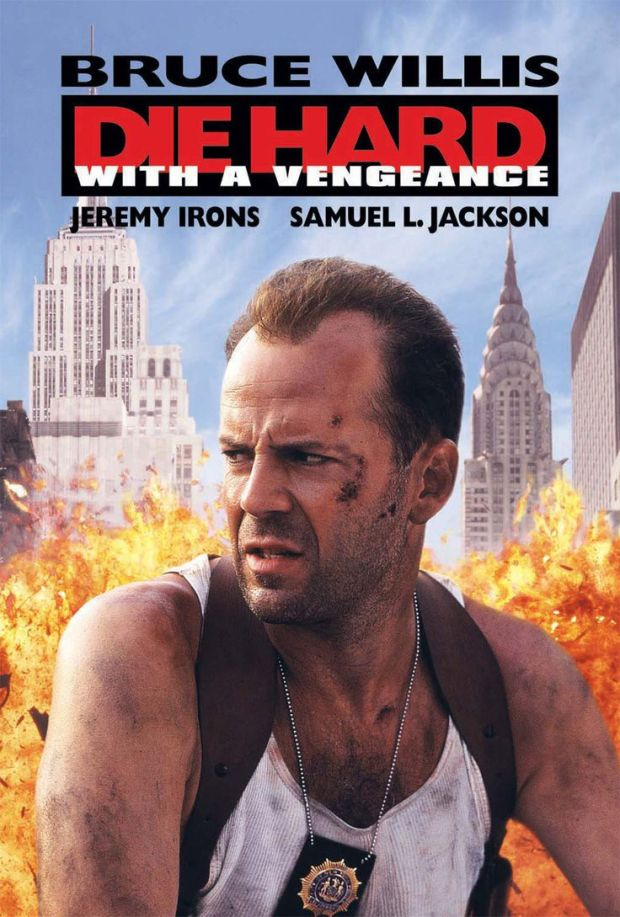 die hard with a vengeace poster
