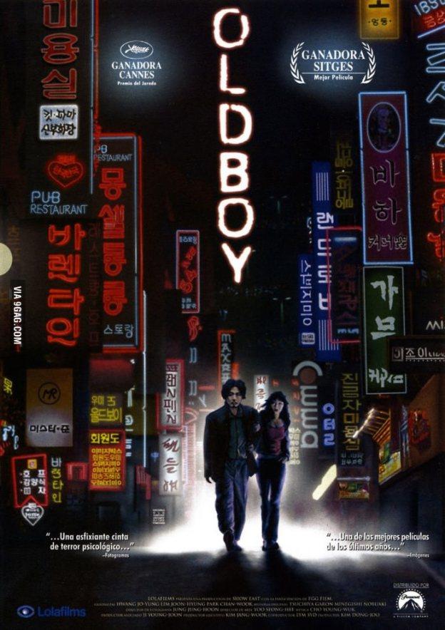 oldboy 2003 poster