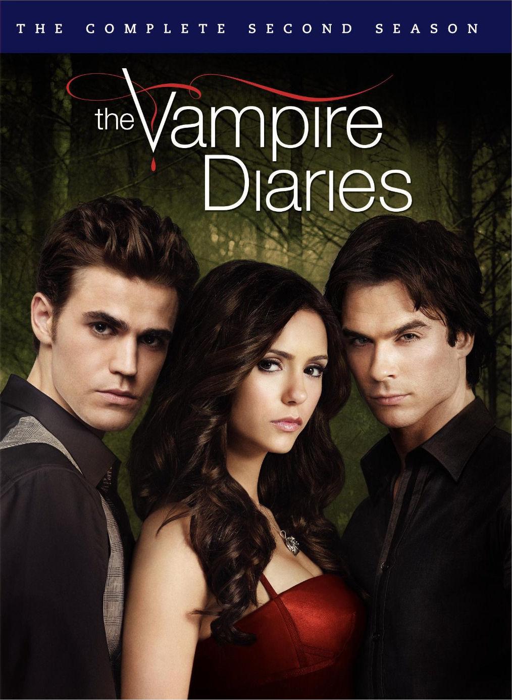 the vampire diaries season 2 cover