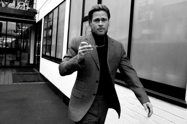 brad pitt suit