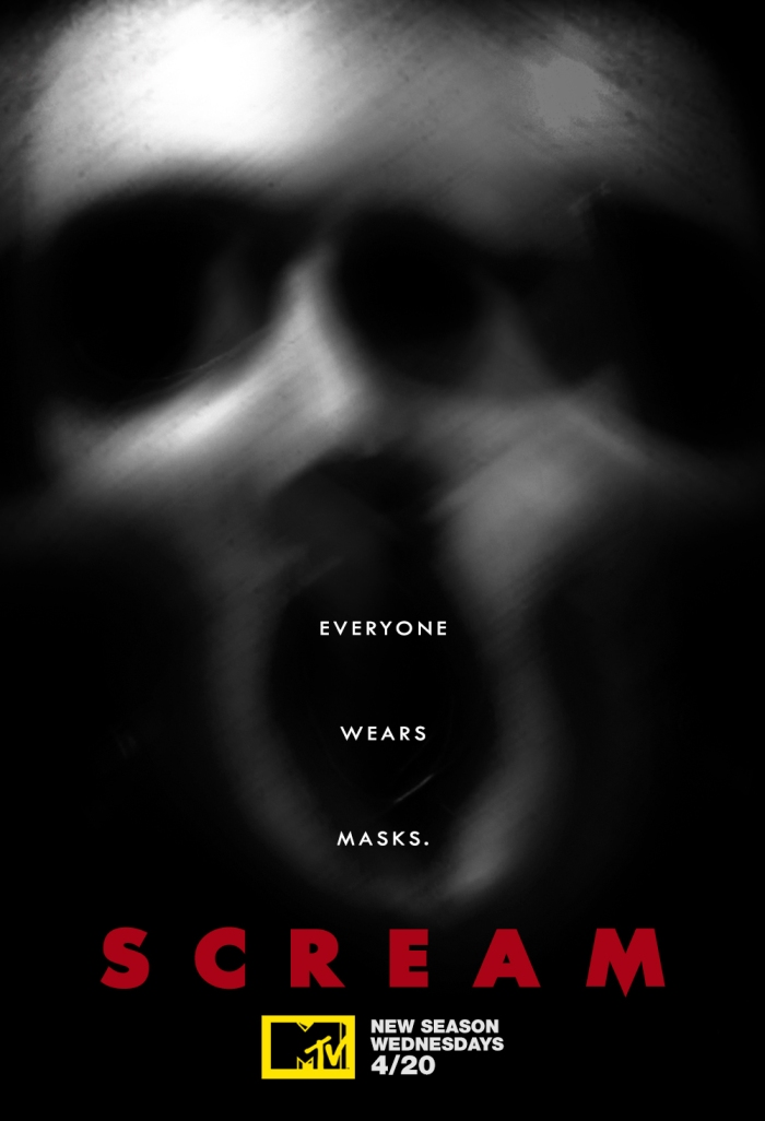 scream season 2 poster