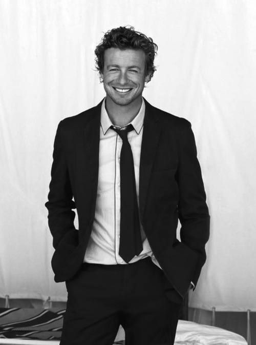 simon baker suit