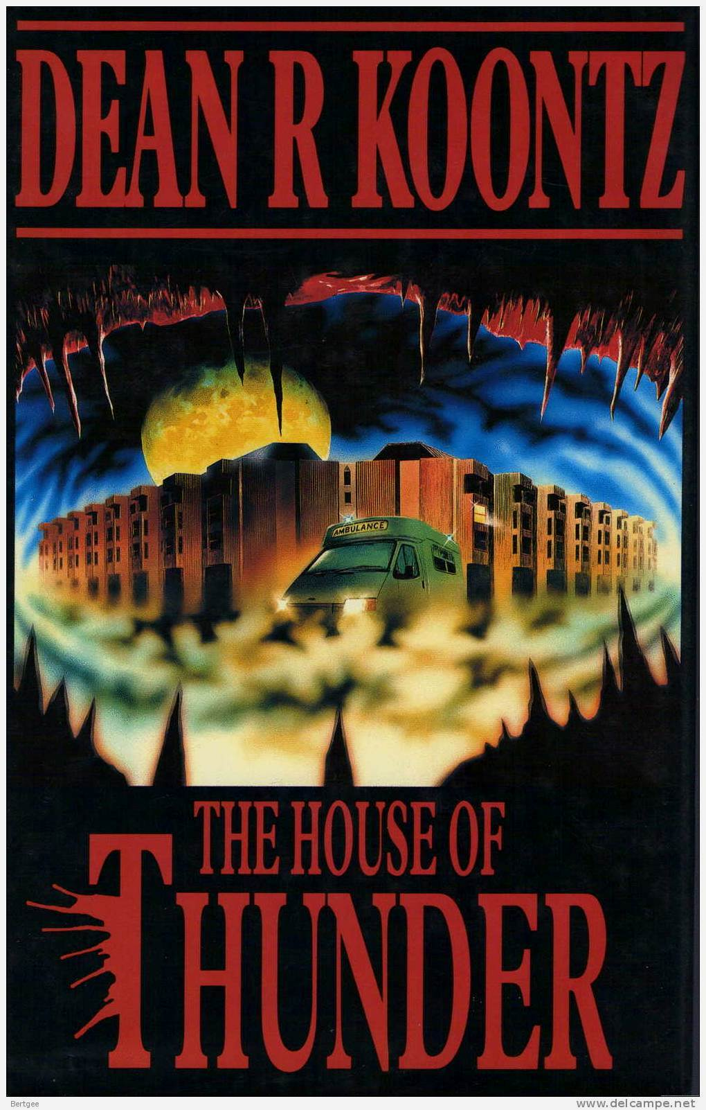 the house of thunder dean koontz cover