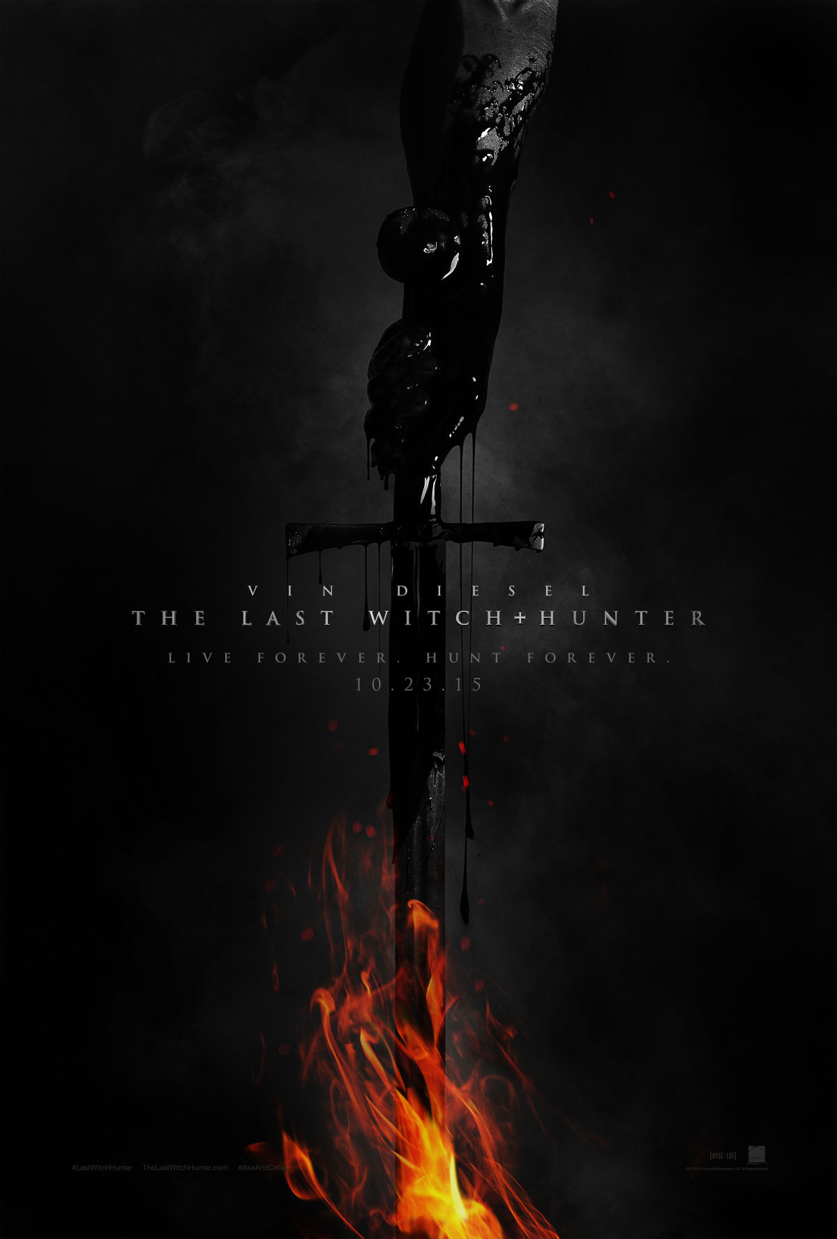 the last with hunter poster