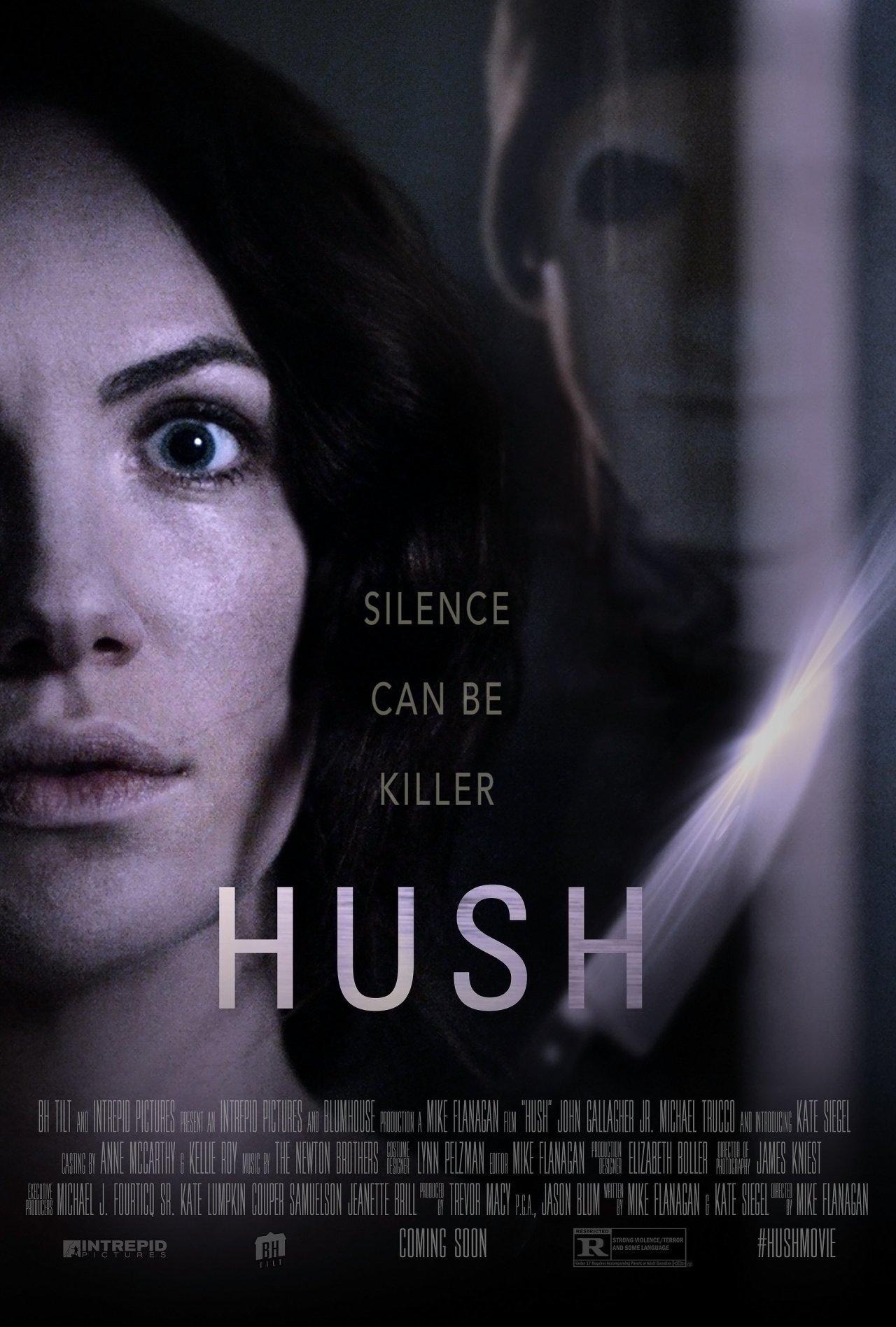 hush movie poster 2016