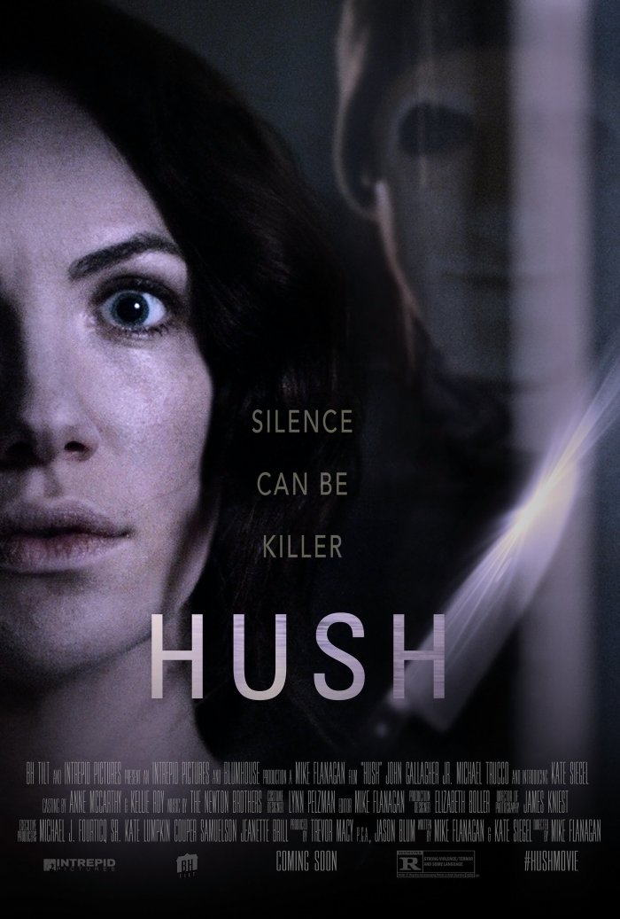 hush movie poster 2016
