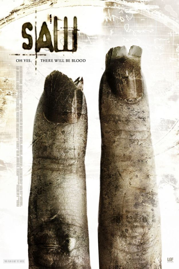saw 2 poster large