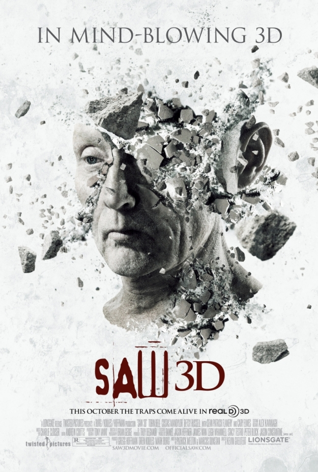 saw 3d the final chapter poster