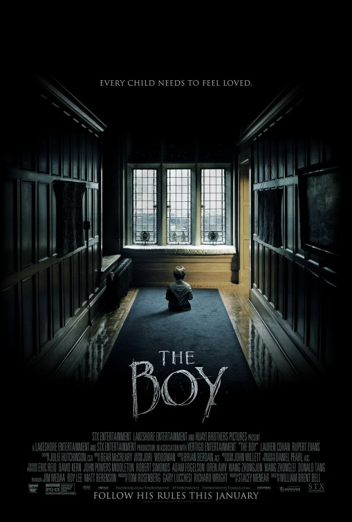 the boy poster 2016